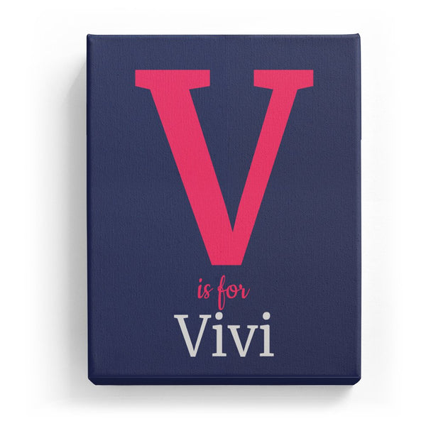V is for Vivi - Classic