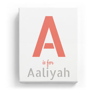 A is for Aaliyah - Stylistic