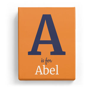 A is for Abel - Classic