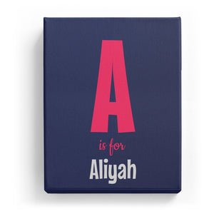 A is for Aliyah - Cartoony