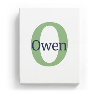 Owen Overlaid on O - Classic