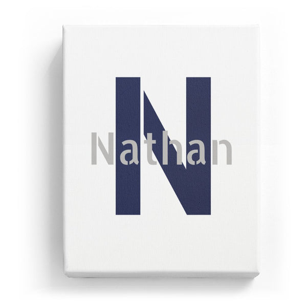 Nathan Overlaid on N - Stylistic