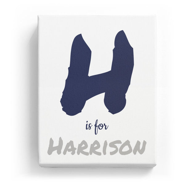 H is for Harrison - Artistic