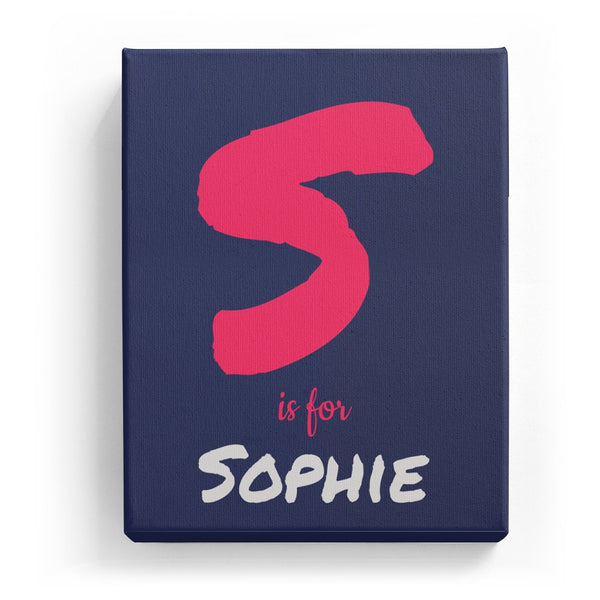 S is for Sophie - Artistic