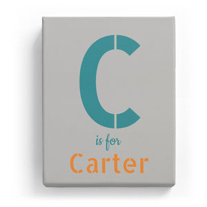 C is for Carter - Stylistic