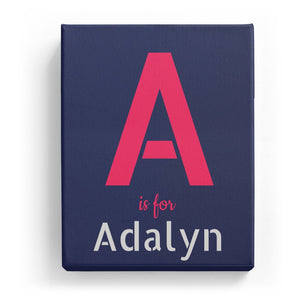 A is for Adalyn - Stylistic