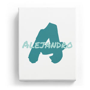 Alejandro Overlaid on A - Artistic