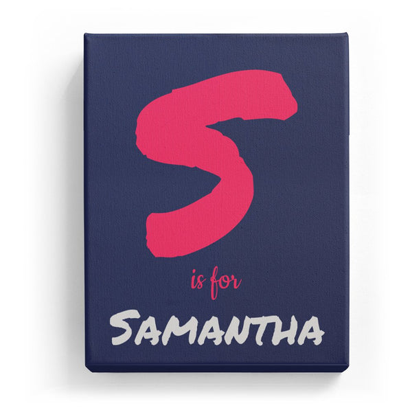S is for Samantha - Artistic