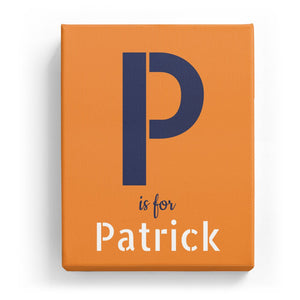 P is for Patrick - Stylistic