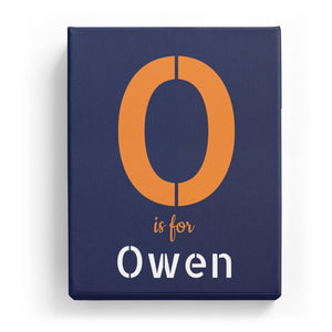 O is for Owen - Stylistic