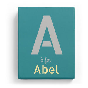 A is for Abel - Stylistic