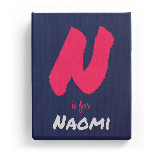 N is for Naomi - Artistic