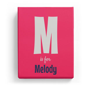 M is for Melody - Cartoony