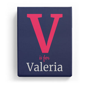 V is for Valeria - Classic