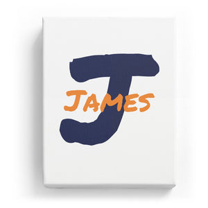 James Overlaid on J - Artistic
