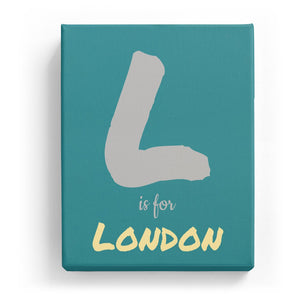 L is for London - Artistic