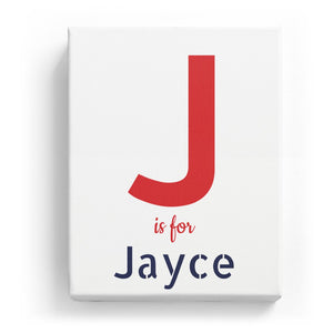 J is for Jayce - Stylistic