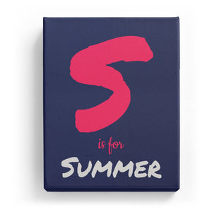 S is for Summer - Artistic