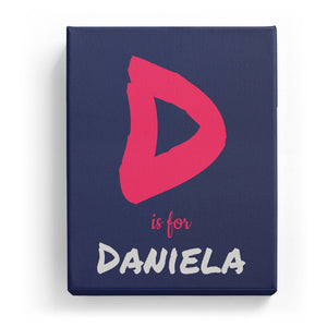 D is for Daniela - Artistic