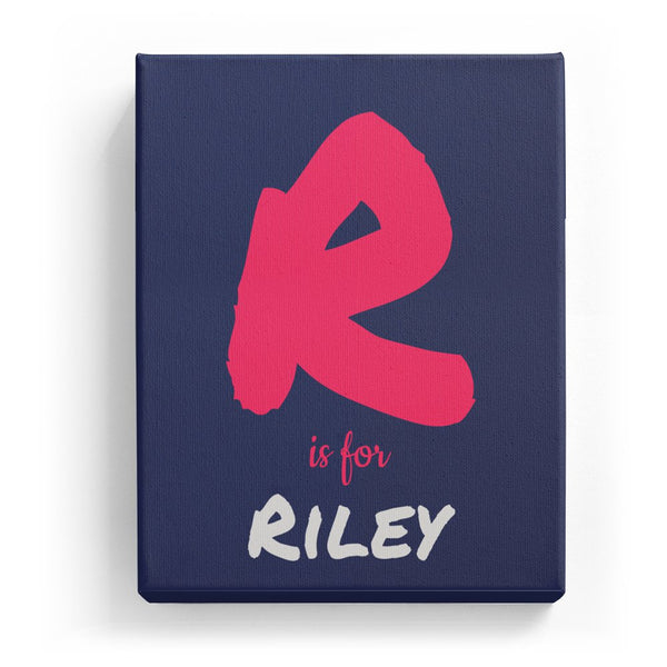 R is for Riley - Artistic