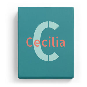 Cecilia Overlaid on C - Stylistic