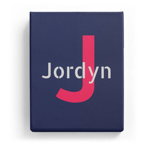 Jordyn Overlaid on J - Stylistic