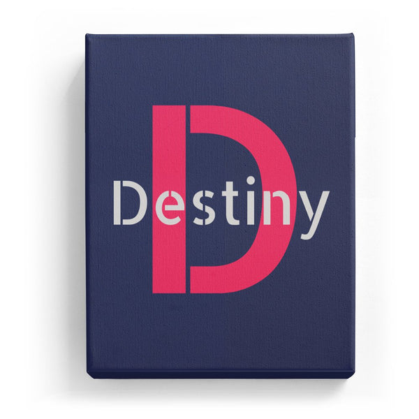 Destiny Overlaid on D - Stylistic