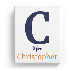 C is for Christopher - Classic