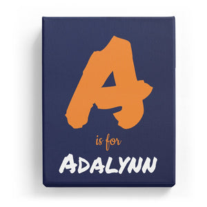 A is for Adalynn - Artistic