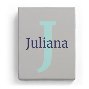 Juliana Overlaid on J - Classic