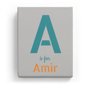 A is for Amir - Stylistic