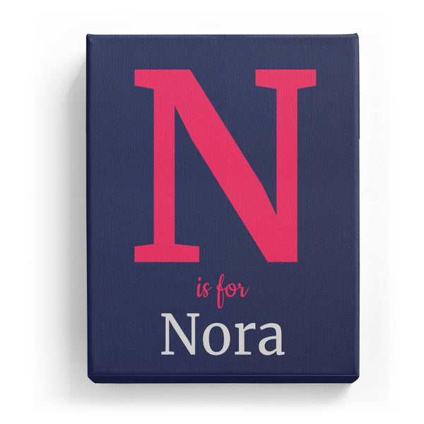 N is for Nora - Classic