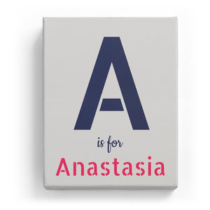 A is for Anastasia - Stylistic