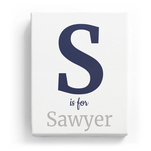 S is for Sawyer - Classic