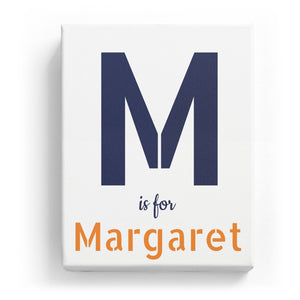 M is for Margaret - Stylistic