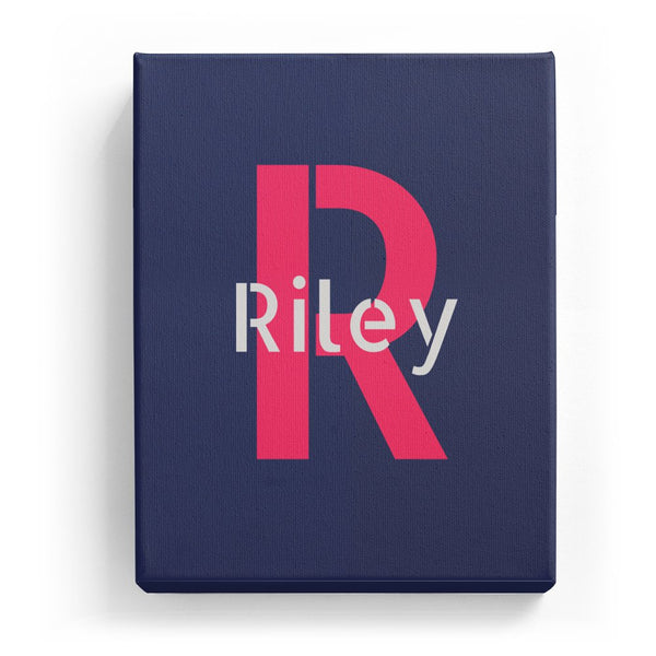 Riley Overlaid on R - Stylistic