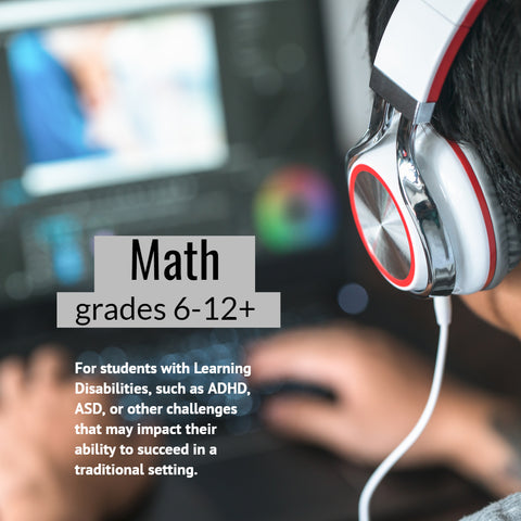 Math tutoring for students with learning differences
