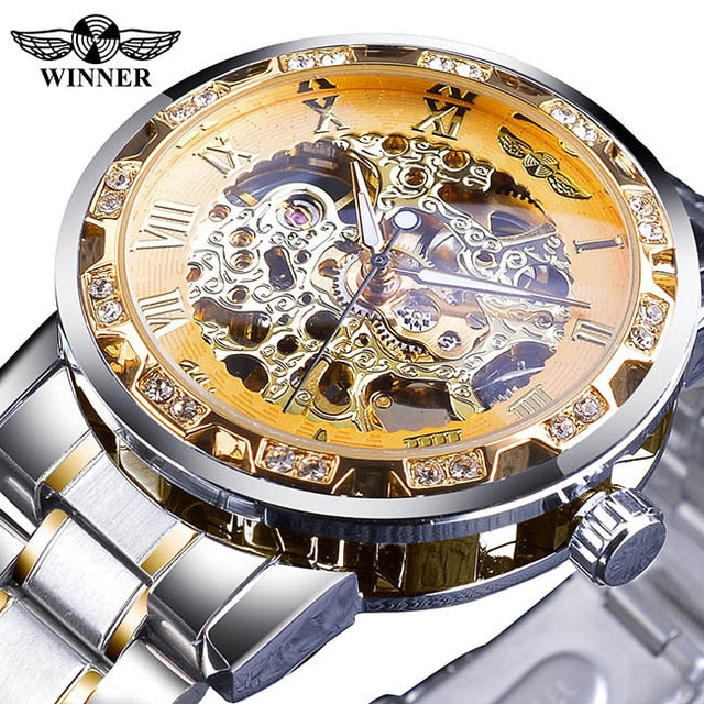 Diamond Display Movement Retro Royal