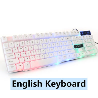 Gaming Keyboard Imitation Mechanical Keyboard with Backlight