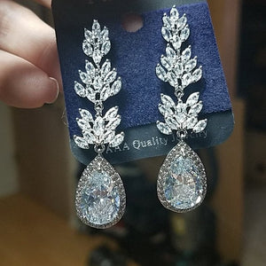 Adriana's Wedding Earrings
