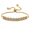 adjustable gold bracelet