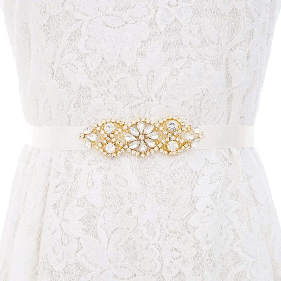 Gold Wedding Belt belt JazzyAndGlitzy