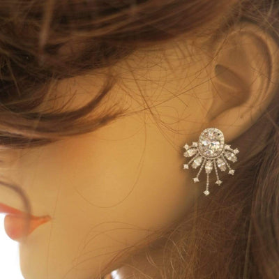 Parla Deco Bridal Earrings Earrings JazzyAndGlitzy