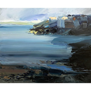 Sarah Carvell - Beach Evening View - De Lacey Fine Art