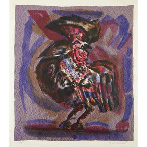 Michael Rothenstein Signed Ltd Ed Print - 'Cockerel' - De Lacey Fine Art