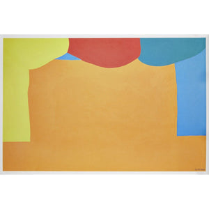 Gary Hume RA - Curtains - De Lacey Fine Art