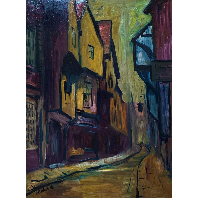 James Lawrence Isherwood - Shambles, York - De Lacey Fine Art