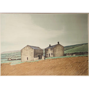 Peter Brook - April - from Twelve months of the year - De Lacey Fine Art
