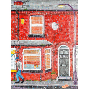 Jerry Gordon - A summers day in Rusholme - De Lacey Fine Art