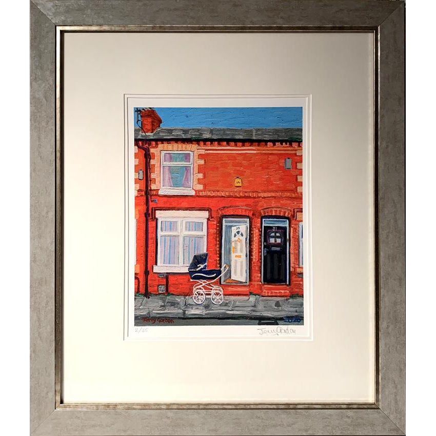 Jerry Gordon - Sunny Day 29 Newlyn Street - Framed Edition